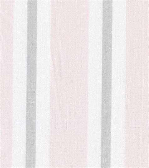 nursery fabric baby basic stripe pink gray white jo ann
