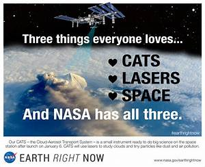 CATS, Lasers and Space | NASA