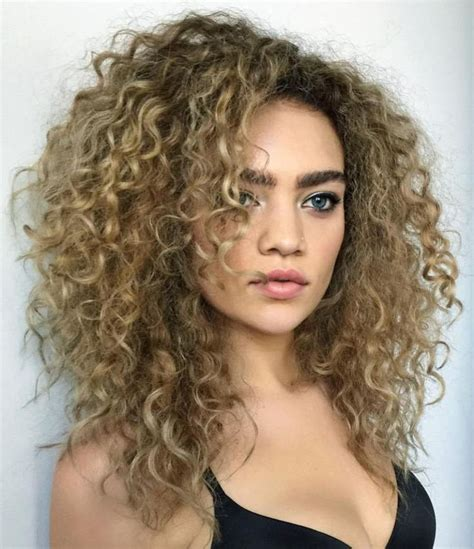 ideas  layered curly hair  pinterest