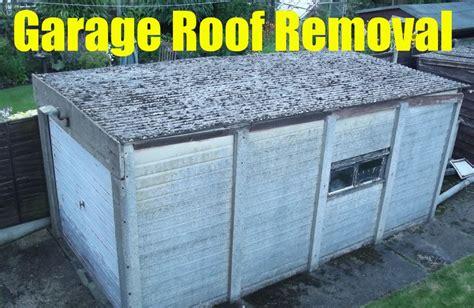 asbestos garage roof removal  london asbestos removals