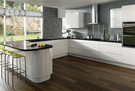 gloss kitchen ideas 17 white and simple high gloss kitchen designs home
