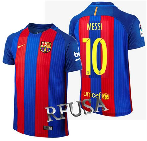 Nike Lionel Messi Fc Barcelona Home Youth Jersey 201617