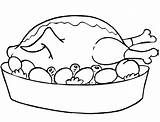 Coloring Meat Chicken Designlooter Funny Egg Eggs Drawings 9kb 693px sketch template