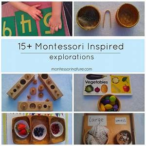 15+ Montessori Inspired Explorations for Three Year Olds ...