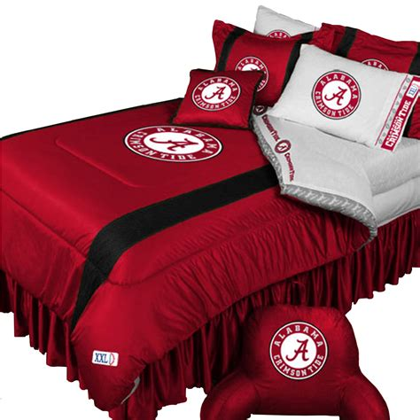 alabama comforter set ncaa alabama crimson tide 4pc bedding set single size