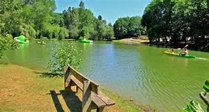 camping dordogne peche etang canoe lac les valades With camping avec etang de peche et piscine