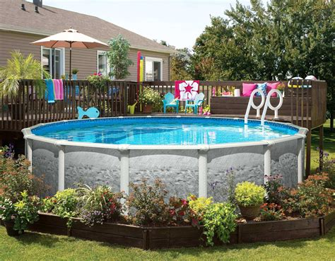 Above Ground Swimming Pools For Sale From Our Backyards