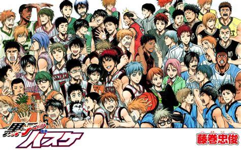 anime basket liste kuroko no basket characters list www pixshark