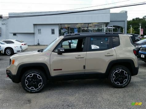 mojave jeep renegade mojave sand 2015 jeep renegade trailhawk 4x4 exterior