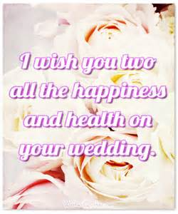 Wedding Wishes Card Messages