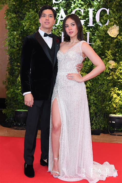 janella salvador gown star magic ball the 25 red carpet head turners at star magic ball 2017