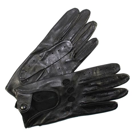 gants cuisine anti chaleur gants de conduite femme cuir noir glove tous les gants
