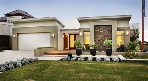 Single Home Designs Single Storey Modern Contemporary