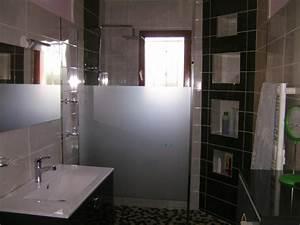 niche murale dans salle de bain et mosaique solutions With salle de bain design avec travaux décoration intérieure