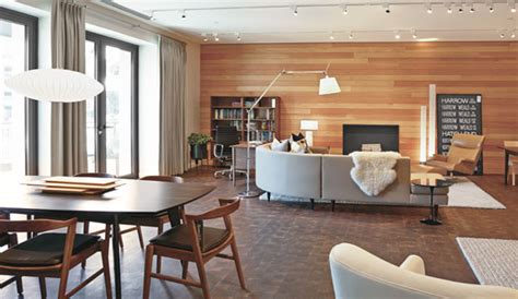 seattle modern furniture store room board