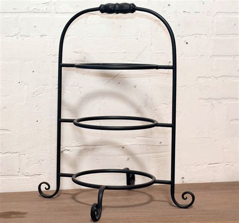 tiered plate stand metal plate stand plate holder antique farmhouse