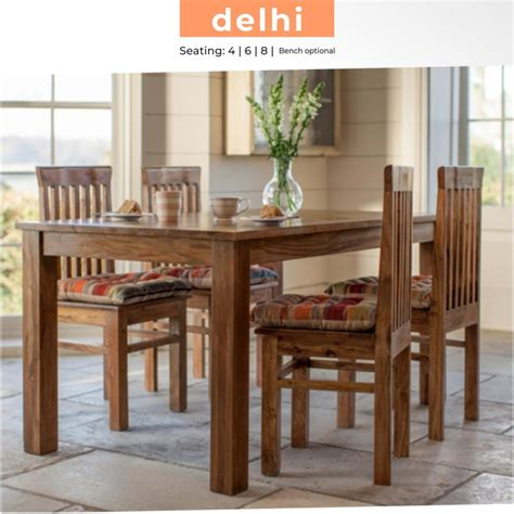 dining table solid wood  seater verv rightwood