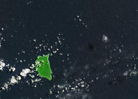 Earth From Space Henderson Island South Pacific Spaceref