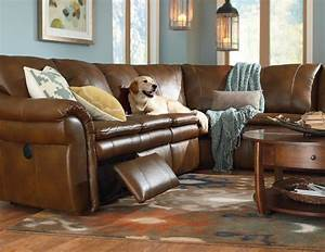 La z boy devon 5 piece power reclining sectional with left for 5 piece reclining sectional sofa