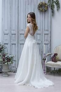 Robes De Mariée Bohème Chic : la robe de mari e vintage les meilleures variantes ~ Nature-et-papiers.com Idées de Décoration