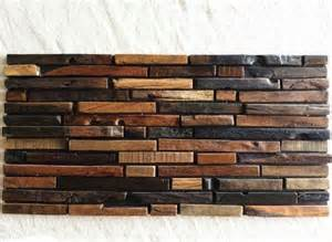 rustic kitchen backsplash tile wood mosaic tile rustic wood wall tiles nwmt009 kitchen backsplash wood panel wood