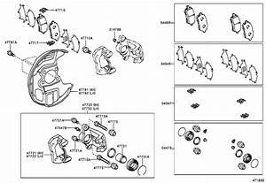 Toyota Mr2 Disc Brake Pad Set  Front   A Set Of Disc Brake