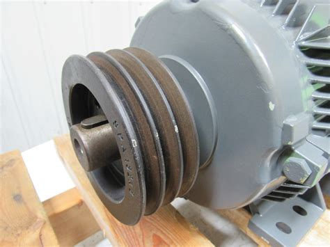 Electric Motor Pulleys by Siemens 1la5133 6aa Electric Motor 3ph 4 6kw 6 16hp W 3