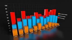 Simple Bar Chart Version 2 Graph C4d 3d Model Infographics