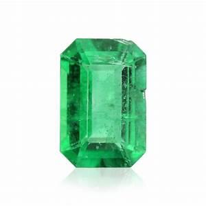 0.49 carat, Green, ZAMBIAN Emerald, Emerald Shape, SKU 173727  Emerald