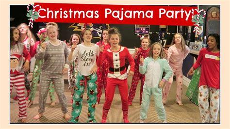 Christmas Pajama Party & Secret Santa Gift Exchange