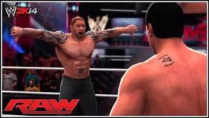 WWE - Batista Returns To RAW & Attacks Alberto Del Rio ...