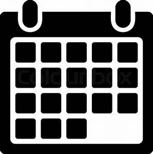 Calendar Appointment vector icon. Style is flat symbol ...