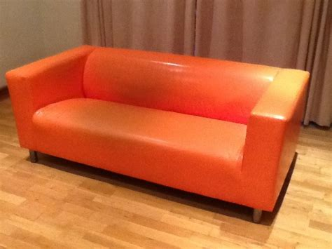 Ikea Klippan Orange Couch For Sale In Athboy, Meath From