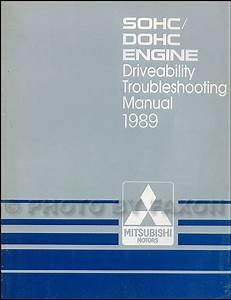 1989 Mitsubishi Van  U0026 Wagon Repair Shop Manual 2 Volume