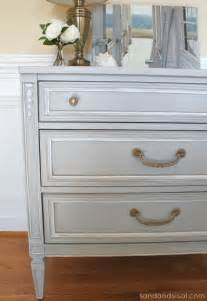 kitchen cabinets that look like furniture chalk paint dresser makeover part 2 using wax sand and sisal