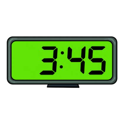digital clock clipart clipart panda clipart images