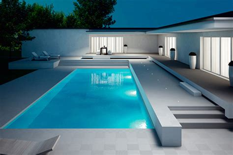 modern pool coping beautiful modern pools montreal outdoor living