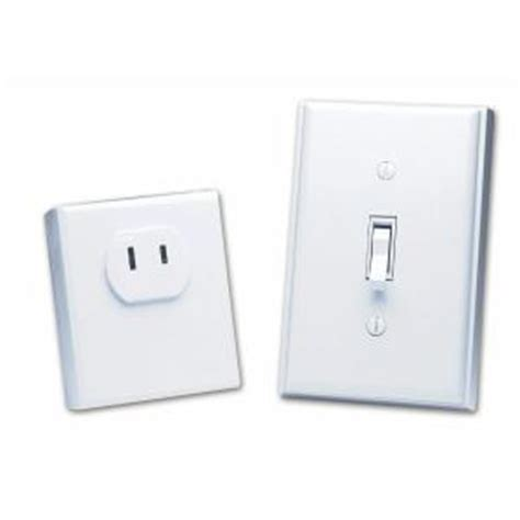 home depot light switch heath zenith wireless switch outlet bl 6136 wh the home