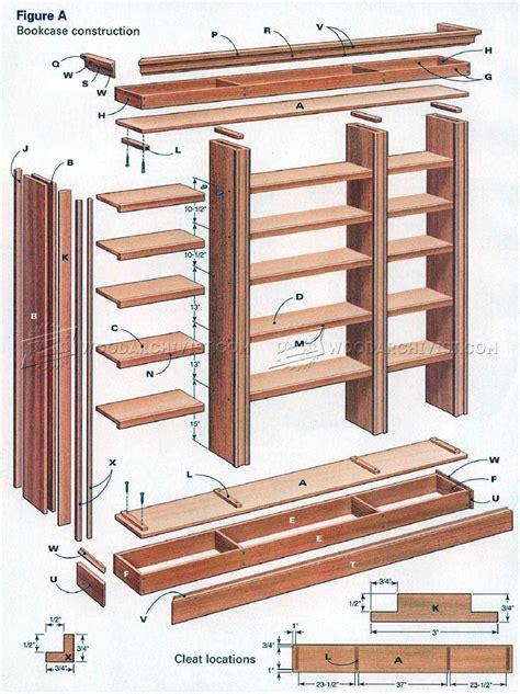 diy bookcase woodarchivist