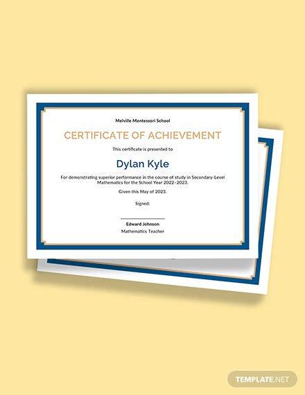 certificate templates google docs templatenet