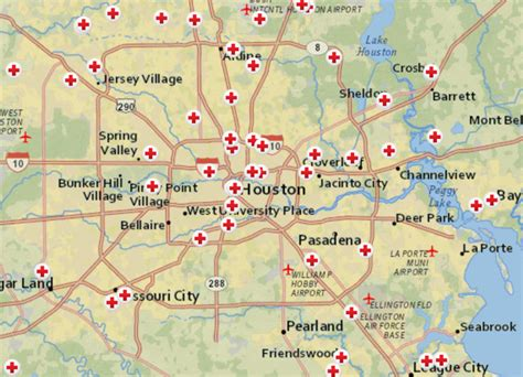 shelter list locations   map thursday houston