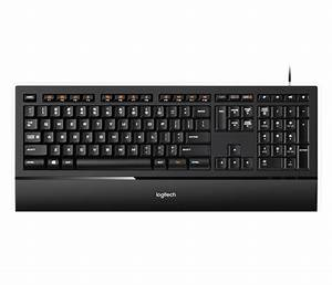 Logitech K740 Illuminated Usb Keyboard With Built