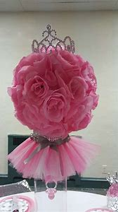 Tiaras and Tutus Baby Shower Centerpieces