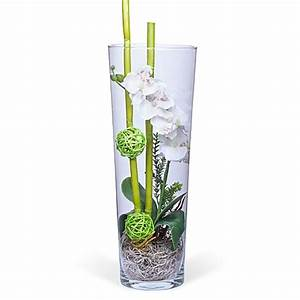 Deko Für Vasen : deko vase orchidee wei 40cm jetzt bestellen bei valentins ~ Orissabook.com Haus und Dekorationen