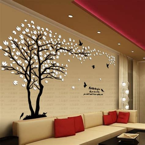 arrival lovers tree crystal  dimensional wall