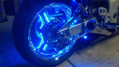 Motorcycle Wheel Lighting System Puck System