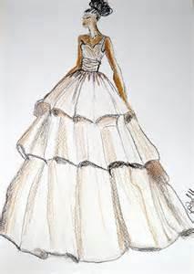pencil wedding dresses wedding dress drawing custom siren wedding dress by myartspace wedding dresses