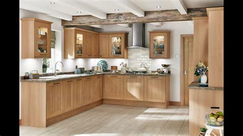 Fairford Light Oak Shaker Style Kitchen  Youtube