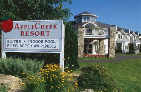door county wi resorts applecreek resort hotel suites fish creek wi resort