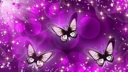 Butterfly Animated Desktop Purple Wallpapers Butterflies Moving